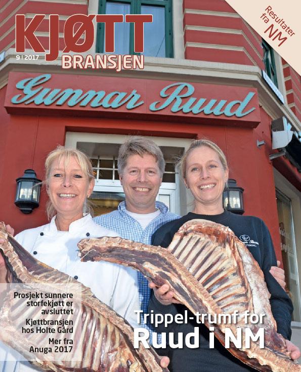Kjøttbransjen november 2017 Norgesmester