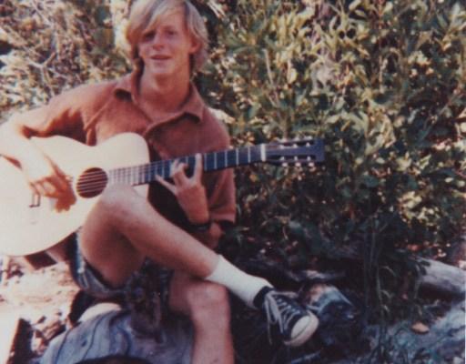 Gunnar learning Gtr circa 1970