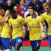 Giroud, Arteta, Gnabry, Ozil, Mertesacker vs Palace