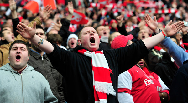 Arsenal fans 02