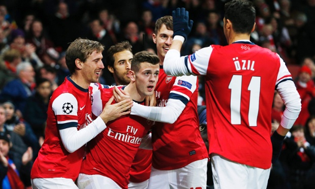 Arsenal v Olympique Marseille - UEFA Champions League Group Stage Matchday Five Group F