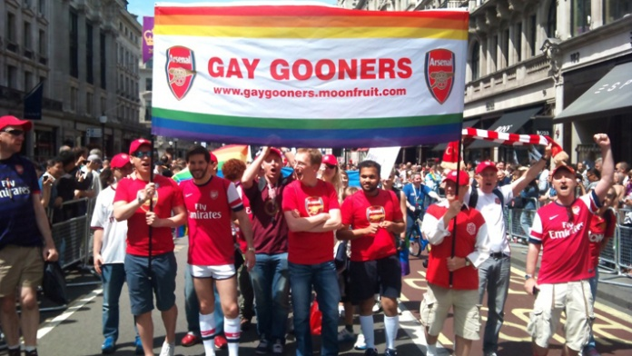 Gay Gooners marrch
