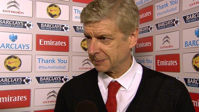 Wenger bemoans Referee post Chelsea