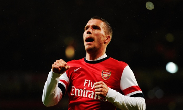 Poldi at the double