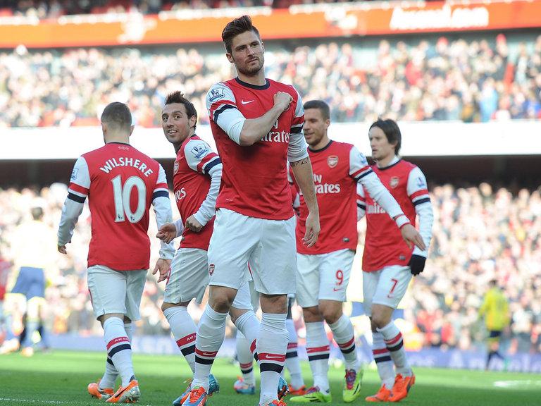 Olivier Giroud Sunderland 4-1