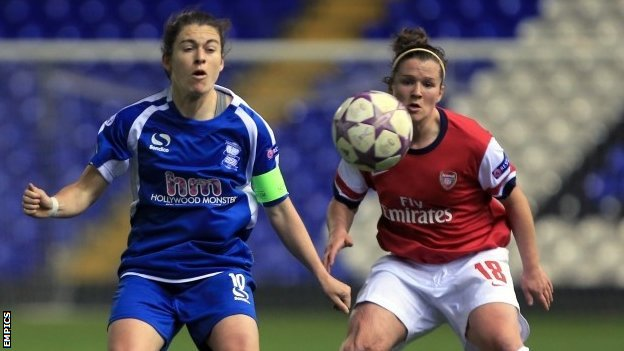 Birmingham 1-0 Arsenal Ladies
