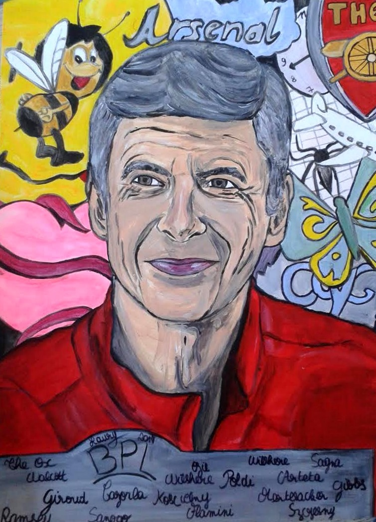 Arséne Wenger by Laury Layani