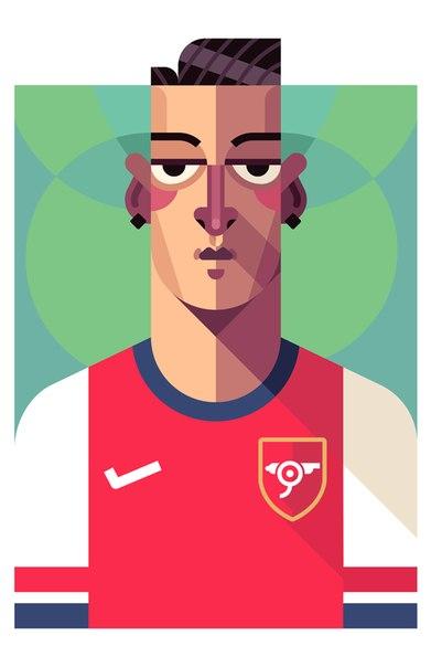 Mesut Ozil 19