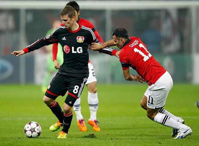 Bayer Leverkusen's Bender