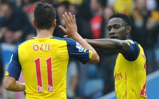 Welbeck and Ozil both drew critics following the defeat to Chelsea