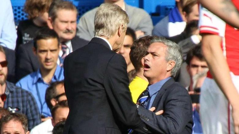 Wenger's push on Mourinho should not be condoned, even if it is Mourinho