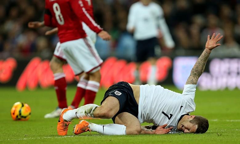 Injured for England