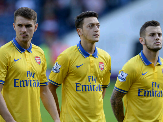 Ramsey, Ozil and Wilshere have all had their critics
