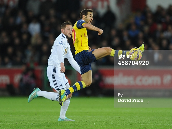 Flamini stuck to Sigurdsson like