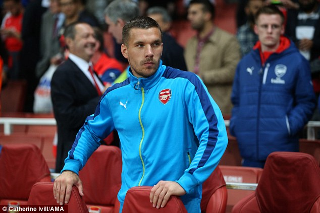 Podolski doesn't seem to be in Wenger's first-team plans
