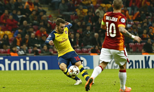 Aaron-Ramsey-Arsenal-Galatasaray
