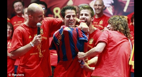 It was in Cesc's blood and