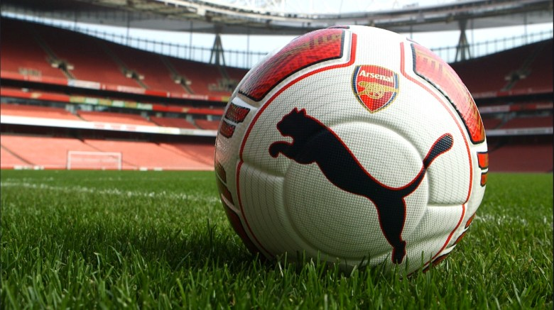 Left-Footed evoPOWER Football (c) Arsenal Football Club