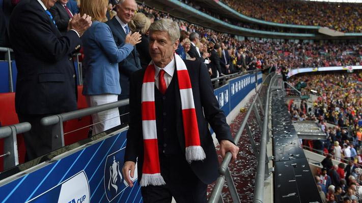 Joy for Wenger