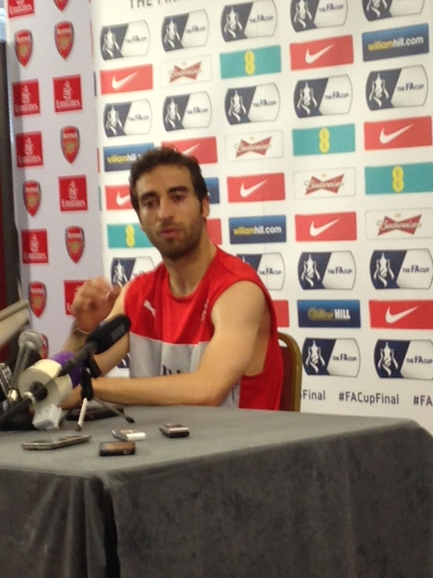 A candid chat with Flamini