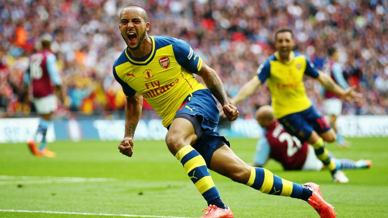 Theo Up top - When was the last time you saw Arsenal play with the same pace and flexibility as we did in the FA Cup final?