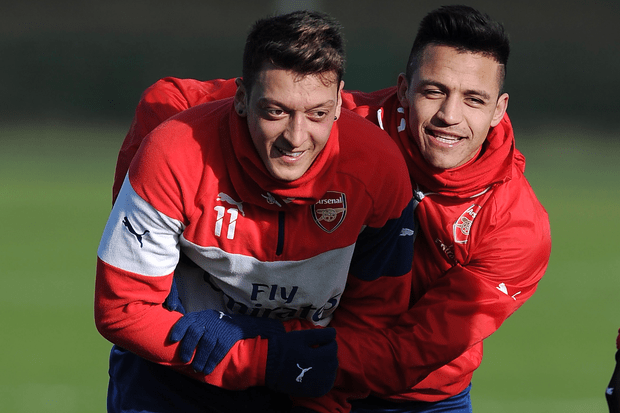 Ozil and Sanchez are sure starters