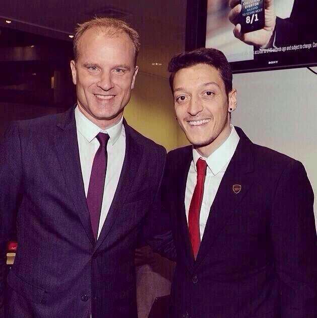 Ozil can have Bergkamp esque impact.