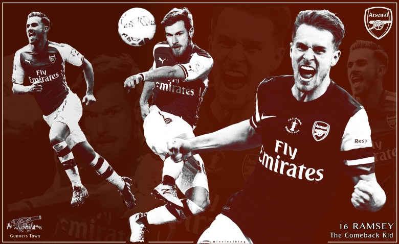 Aaron Ramsey - The Comeback Kid - by @invinciblog