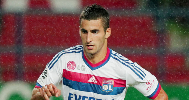 Lyon captain Maxime Gonalons would provide good DM cover