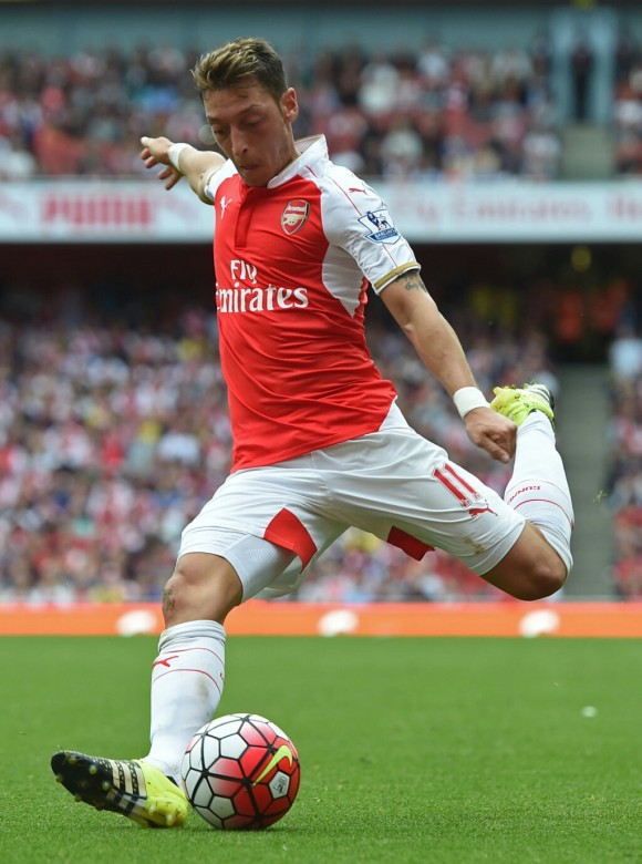 Ozil, influential once again