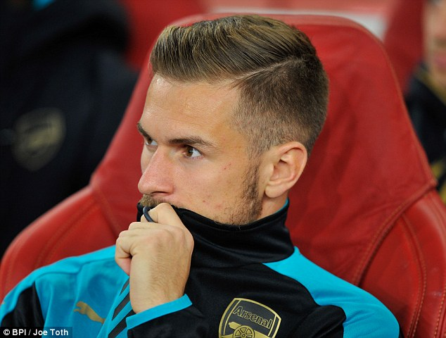 Ramsey was one of four outfield players benched by Wenger [Photo Credit: BPI/Joe Toth]