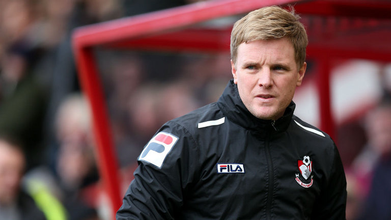 Top Coaching talent in Eddie Howe