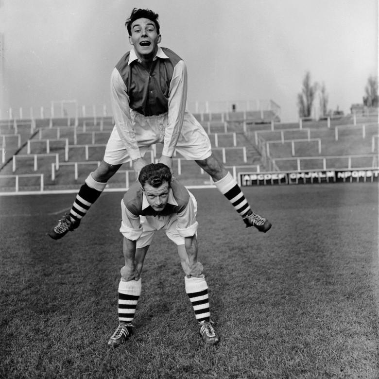 Groves leapfrogs Charlton. (Seemed like a good idea in 1955...)