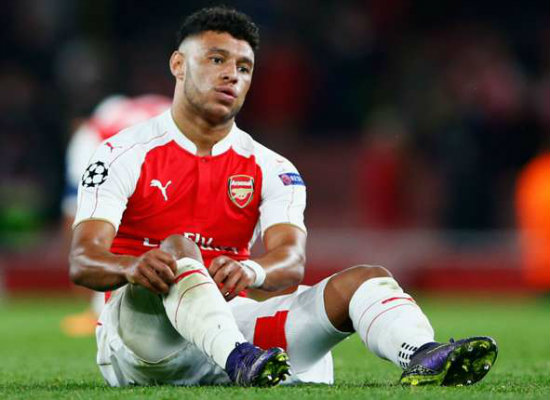Ox the new Ramsey out injured