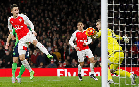 Foster kept Ozil and Alexis off the score-sheet