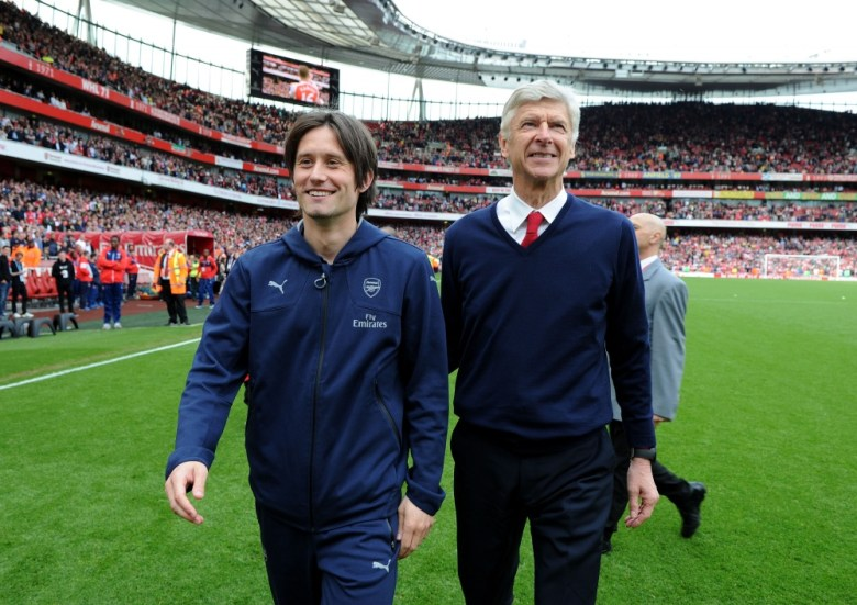 Farewell Cult Hero (thanks Arsenal FC/getty)
