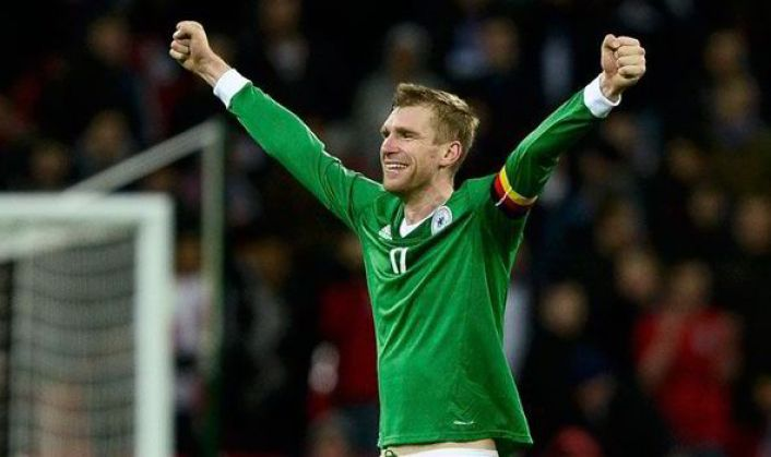 Mertesacker has had the experience of captaining his national team