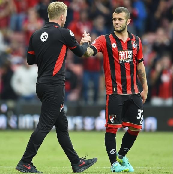 Howe and Wilshere