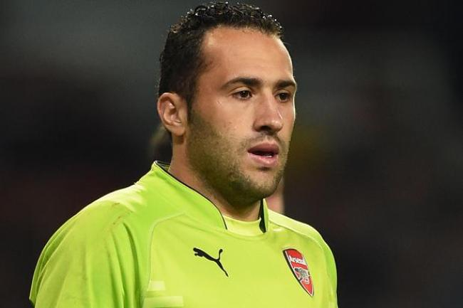 Ospina will be pushing for his first start of the season