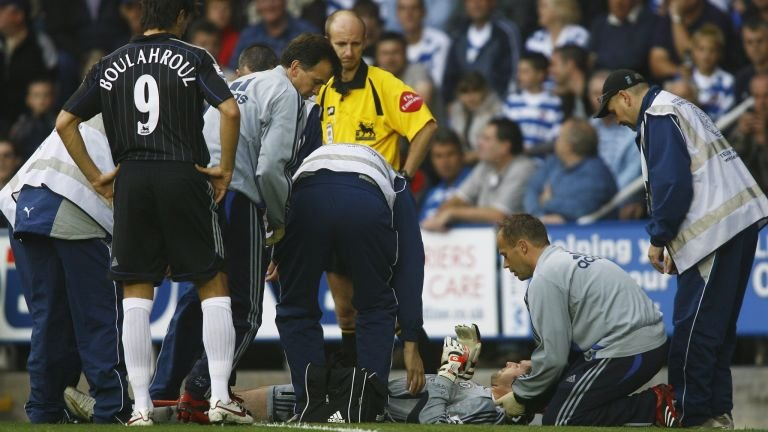 Cech injury at Reading