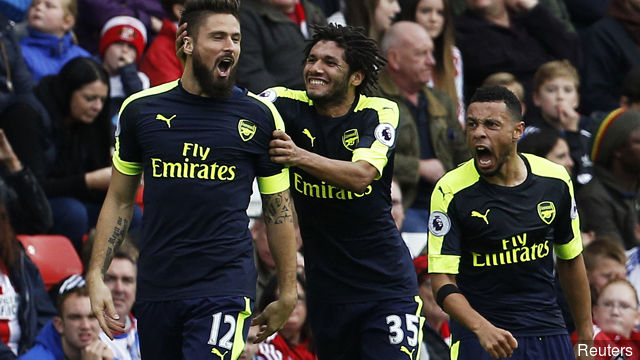 Elneny and Giroud both showed they are crucial to the squad