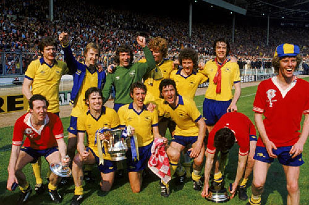 Arsenal's victorious 1979 FA Cup Final side
