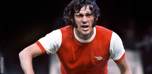 Peter an Arsenal warrior