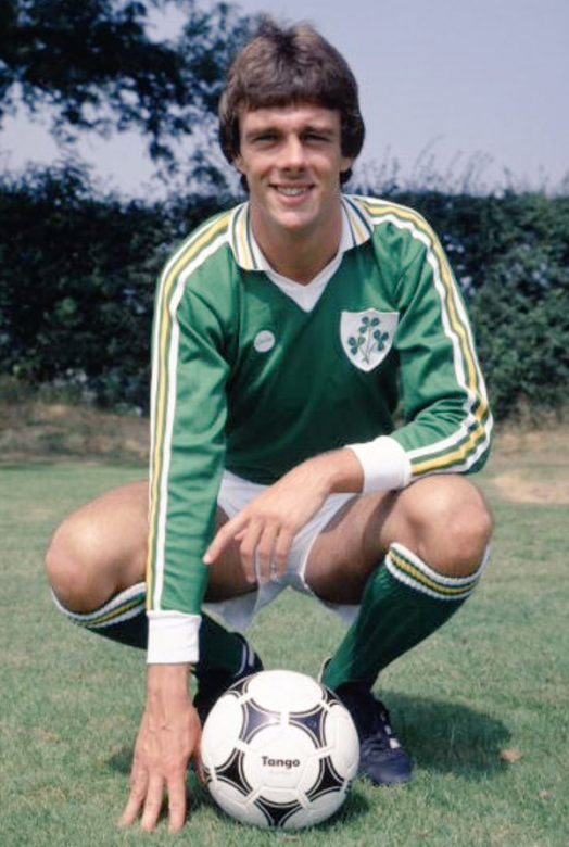 David in his Ireland colours