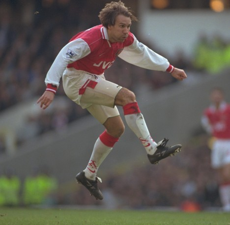 A great mid air action photo of Merse