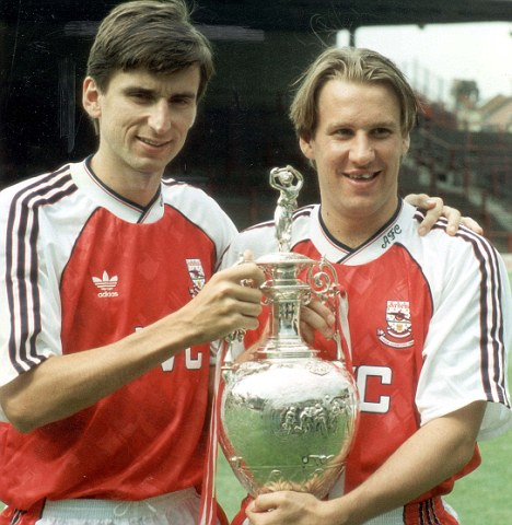 Merse & Smudger had a great partnership