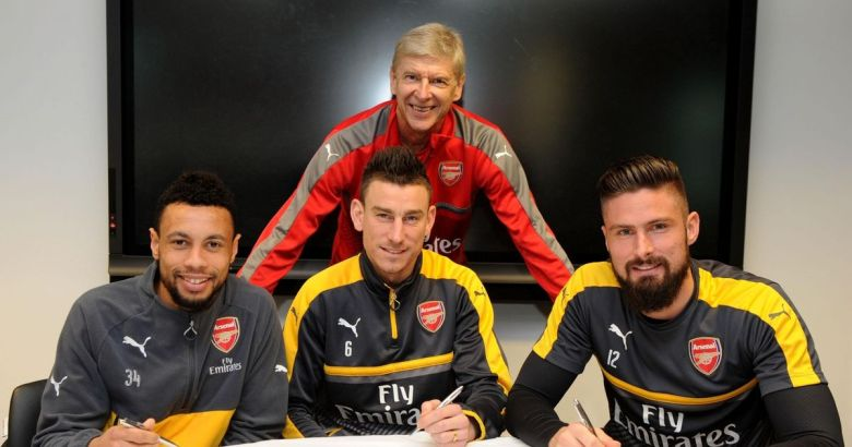 Frenchies sign up for Arsenal