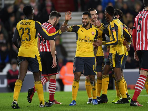 Fresh-faced Arsenal squad crush Saints