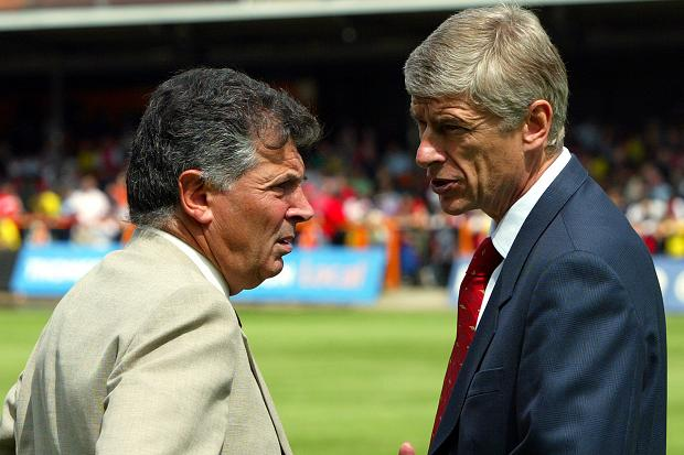 You can't discount David Dein's influence...