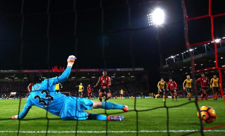 cech penalty Bournemouth